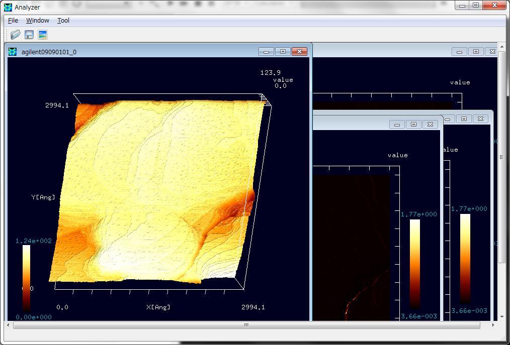stp形式のSPM実験データを読み込む(その2)
