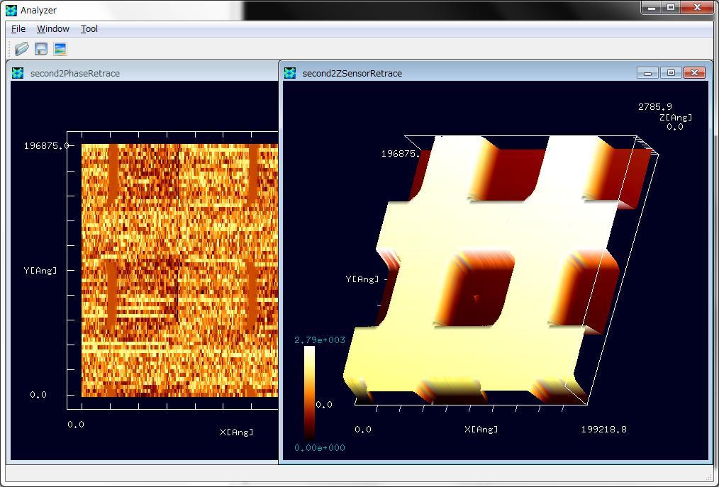 ibw形式のSPM実験データを読み込む
