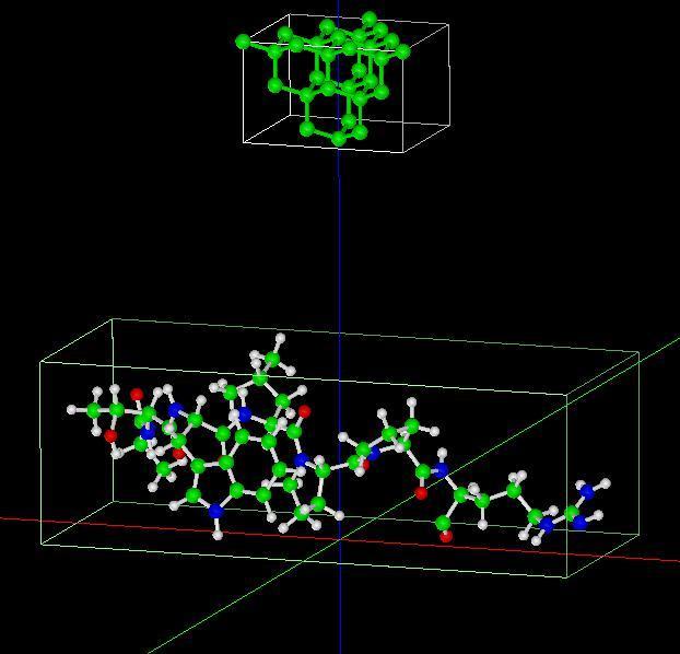 抗血管新生ペプチド試料モデル
