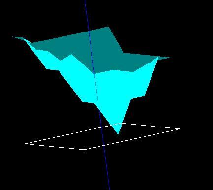 最終的に得られる探針形状画像